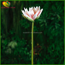 Wholesale real touch lotus flower decorative artificial lotus for home decoration