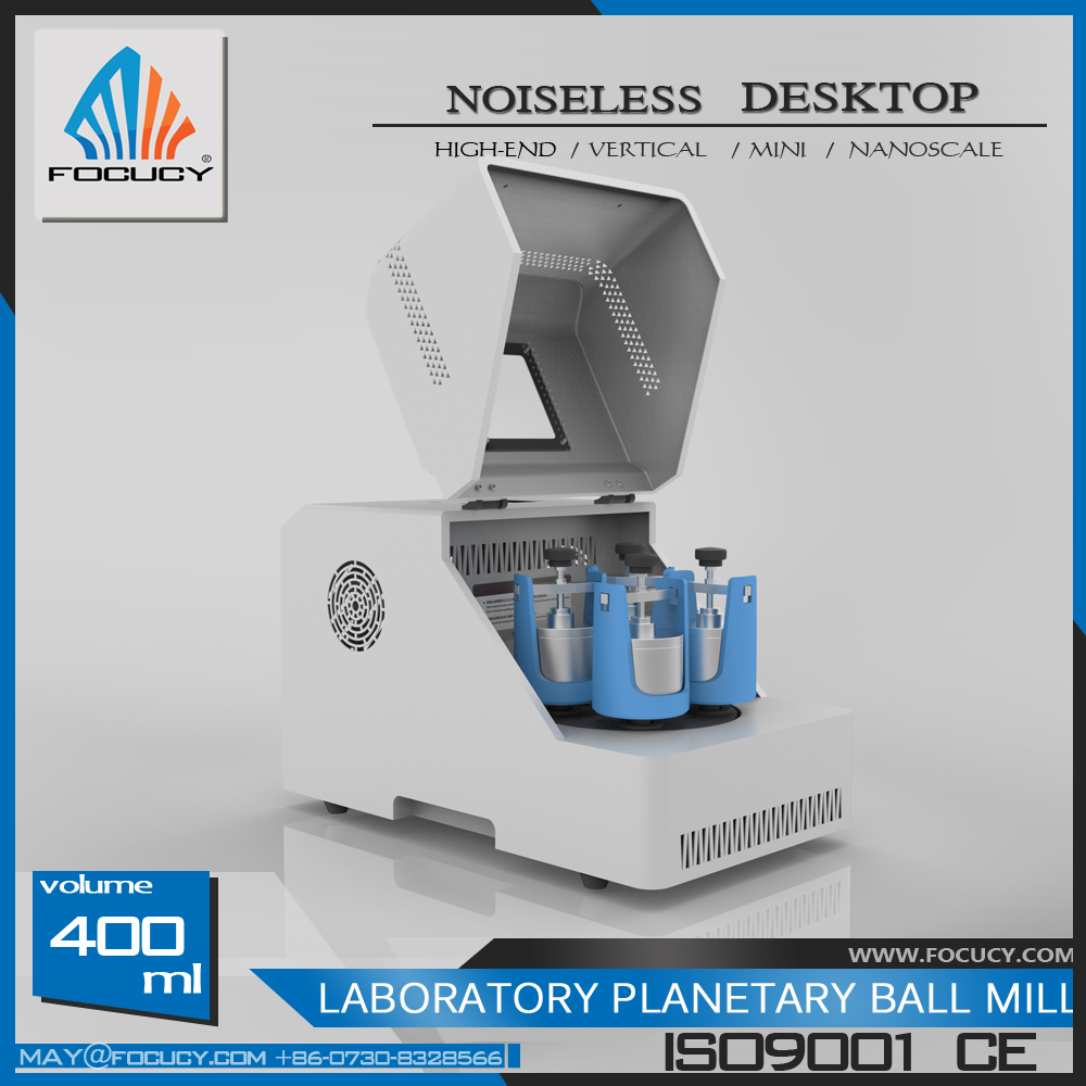 2017 High End Factory Price Lab Powder Grinding Mills Pulverizer Planetary Ball Mill