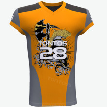 Cheap American football training jerseys Sublimation football jersey