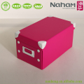 NAHAM multipurpose house folding document storage box with lid
