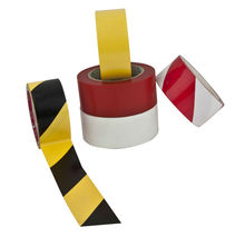 Electrical warning tape used for site marking and hazard signing