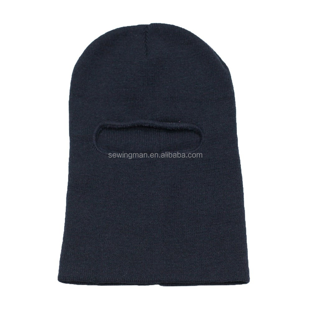 Cold Weather Hat Winter Promotion WindProof Long Acrylic Balaclava Knitted Hats Helmet Cap Balaclava face mask