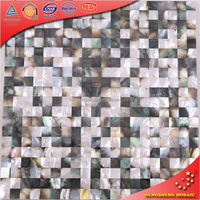 BK10 Luxury Deep Sea Jointless Mosaic Sea Shell For Wall Decoration