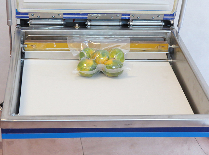Large Commercial Digital Vacuum Sealing Machine For Food Dry Wet With 2*1.8 L Vacuum Pump
