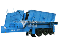 Mobile Crushing Plant for construction waste recycling