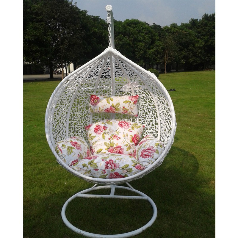 Heloise Round Rattan Bird Nest Balcony Adult Cheap Outdoor Indoor Wicker Cocoon Hanging Swing Egg Chair With Stand