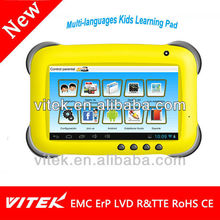 "7"" Android 4.2 Kids Drawing Tablet Learning Pad"