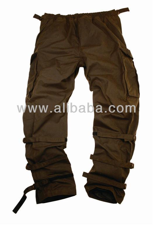 Waxed Waterproof Oilskin Trouser Pant