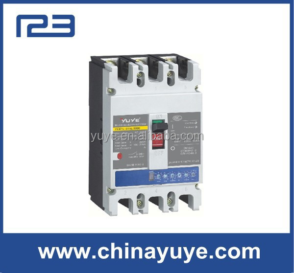 Moulded Circuit breaker electric mcb size