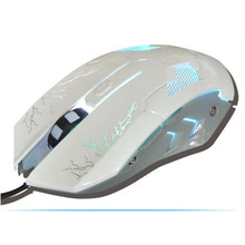 Computers gamer usb wired mause mini wire customized mouse