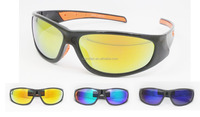 men sports sunglasses with yellow lens custom sport glasses night vision driving glasses