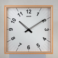 gift table wooden clock wall wood clock by bestar
