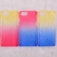 Colorful PC case with sprecial UV oil coating for iphone6 hard cover
