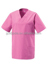 Wholesale hospital scrubs/hospital nurse uniform/top medical scrubs