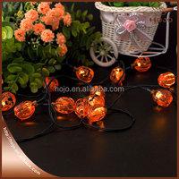 Creative Halloween party decoration light pumpkin head light up plastic pumpkin led light