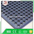 Anti slip truck bed rubber mat