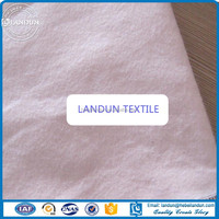 Shijiazhuang Factory Supply Cotton flannel fabrice bleached/dyed double side brushed