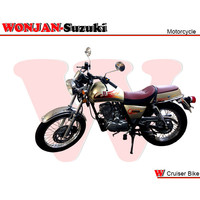 Cruiser bike (250cc) Wonjan-Suzuki engine, Motorcycle, , Motorbike, Autocycle,Gas or Diesel Motorcycle (GN250-C CHAMPAGNE)