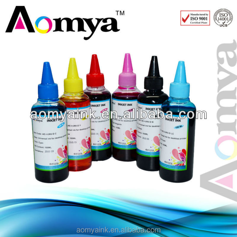 Aomya dye inkjet ink for epson l100 printer