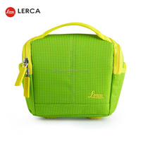 Fashion Colorful 420D Nylon WaterProof Digital Unique Green Camera Bag
