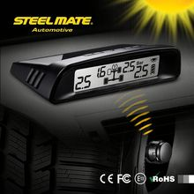 2015 SteelmateTP-S1 solar power tpms motorcycle tire pressure monitoring, vehicle tool, auto pressure sensor