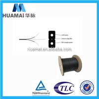 Ftth 2 4 6 12 24 Core G652d Indoor Superior Flat Aerial Single Mode Multimode Ribbon Fiber Optic Drop Cable Price