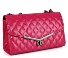 New design china manufacture wholesale office lady sexy shining pu handbag