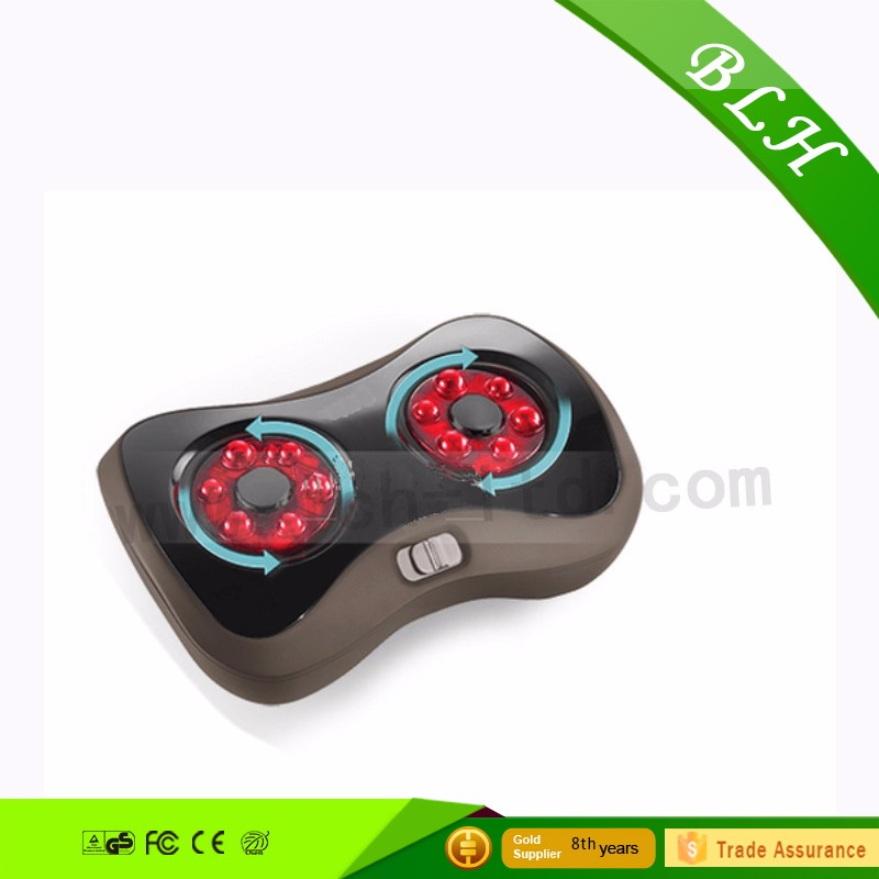 BLH high quality 3D design multi-funciton kneading shiatsu heating wave foot massager with heating function