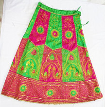New arrival 2017 embroidered handmade banjara long skirt