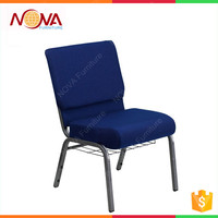 Wholesale genera used new design stackable church chair