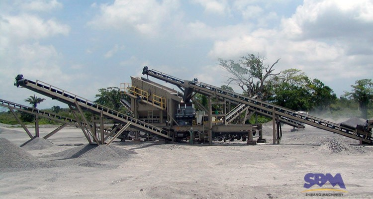 SBM 2018 new products mobile impact crusher price in south korea