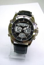 New 2012 Sporty Multifunction Fashion Anadigital Watch