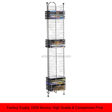 52 DVD CD BlueRay Games Storage Tower Rack