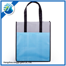 printed custom made non woven foldable shopping bags with handle