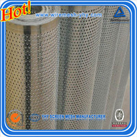 aluminum perforated metal panels/ aluiminum round hole square hole blossom hole shape perforated metal panels