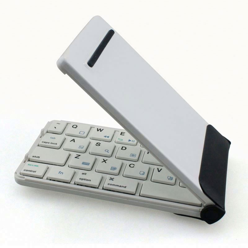 Bluetooth Keyboard For 5 Inch Andriod Tablet, Keyboard For Lenovo Ideapad U310, Foldable Bluetooth Keyboard
