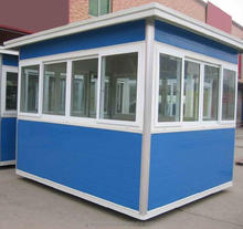 Cheap price shop kiosk / booths / guard houses China manufacturer