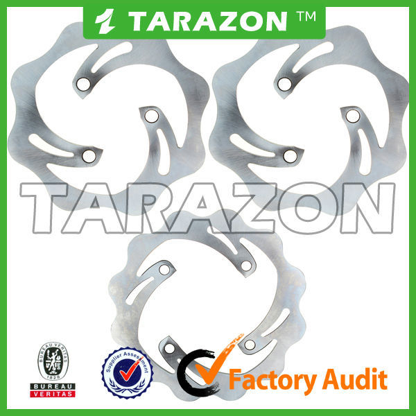 Stainless steel ATV brake disc rotor for Yamaha 4-wheelers