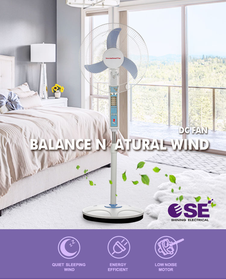 Hot sale 12v ac/dc stand fan price with high quality motor
