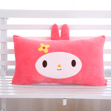 Custom lovely round animal plush pillow toys cute travel pillow