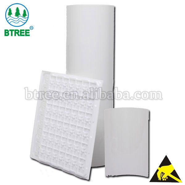 Btree Roll Plastic Sheet for ESD Tray