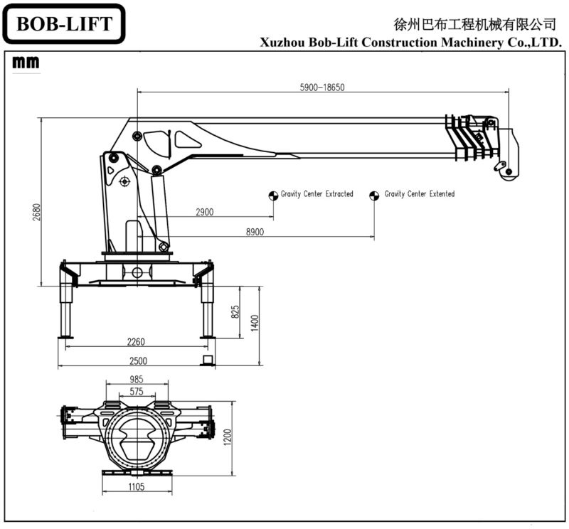 Parts Of A Crane Boom : Hydraulic mobile lifting arm tractors and cranes for sale