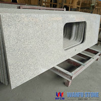 Chinese cheap g603 grey granite kitchen countertops for sale