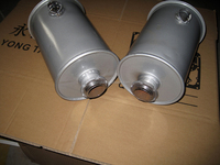 Farm tractor exhaust system parts muffler