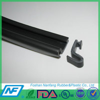 black EPDM adhesive rubber cone seal