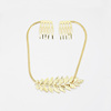 Fashion Chunky Chain Choker Necklace Gold