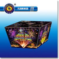 "DC1549C 1.2"" 49S Peacock Pride Wholesale Consumer Cake Fireworks"