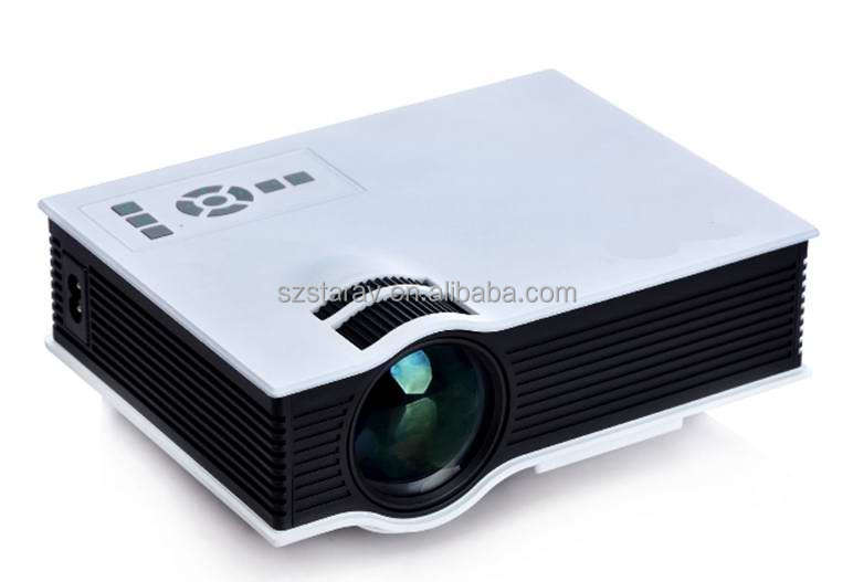 UC40 mini led projector/projects/beam for tablet pc dvd mobile phone