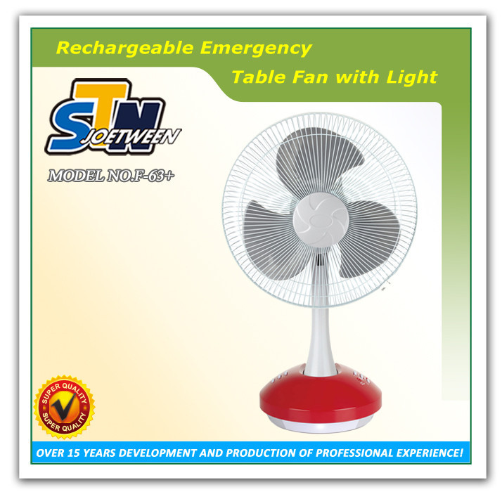 Emergency Fan Type and Plastic Material battery operated 12v 14 inch rechargeable fan