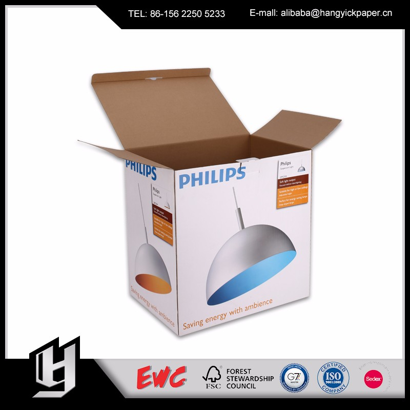 High quality aseptic cardboard box packaging